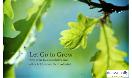 Let Go to Grow 2