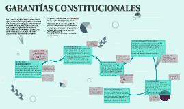 Copy of GARANTÍAS CONSTITUCIONALES