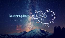 Copy of Línea del tiempo sobre la opinión pública