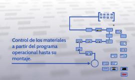 Control de los materiales mediante el sistema operacional ha