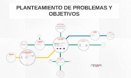 PLANTEAMIENTO DE PROBLEMAS Y OBJETIVOS