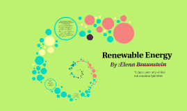 Ch. 19 Renewable Resources