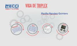 VIGA DE TRIPLEX
