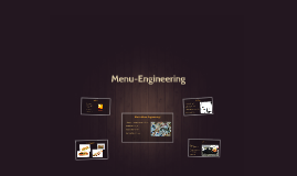 Menu-Engineering