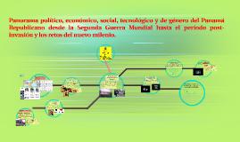 Copy of Panorama político, económico, social, tecnológico y de géner
