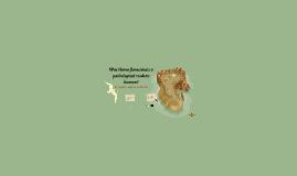 Was Homo floresiensis a pathological modern human?