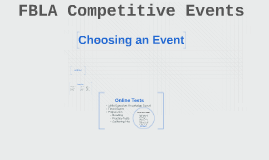 Copy of Choosing an Event