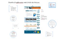 Diseño UI aplicacion web Unión de Mutuas