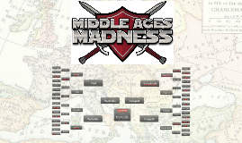 1st Period Middle Ages Madness Bracket