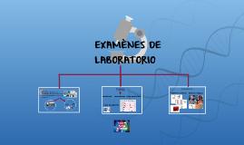 EXAMÈNES DE LABORATORIO