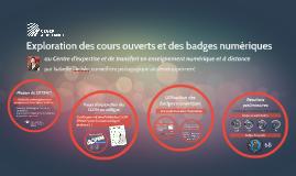 Exploration des badges numériques au Cégep à distance