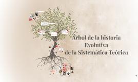Copy of arbol de la historia evolutiva