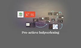 Pro-actieve Hulpverlening
