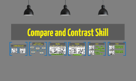 Compare and Contrast Skill