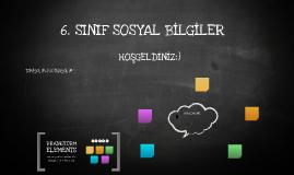 6. SINIF SOSYAL BİLGİLER