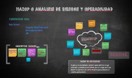 Copy of HAZOP O ANALISIS DE RIESGOS Y OPERABILIDAD