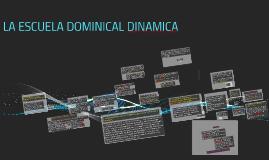 EL DESAFIO DE LA ESCUELA DOMINICAL
