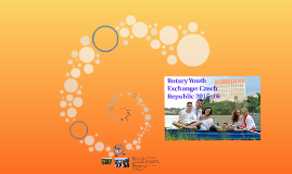 Rotary Youth Exchange: Czech Republic 2015-16