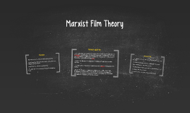 Marxist Film Theory