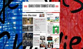 CHARLIE HEBDO TERRORIST ATTACK