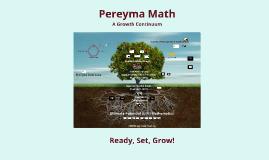Pereyma Math October 2013
