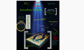 Copy of Fasting and Ramadhan
