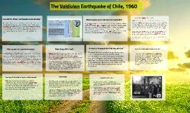 Valdivian Earthquake 1960