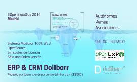 ERP & CRM Dolibarr #OpenExpoDay 2014 Madrid