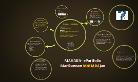 Copy of MAHARA ePortfolio
