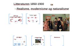 Copy of Litteraturen 1850-1900