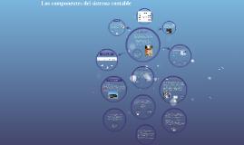 LOS COMPONENTES DEL SISTEMA CONTABLE