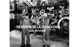 FILOSOFIA DE LA TECNOLGIA