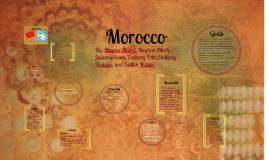 Morocco -Developing Country