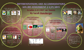 Copy of DIFFERENTIATIONS AND ACCOMMODATIONS
