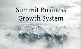 Summit Business Growth System in 3D