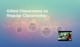 """Gifted"" Classrooms vs              ""Regular"" Classrooms"