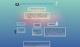 Copy of Copy of HABILIDADES DE  CONCEPTUALIZACIÓN