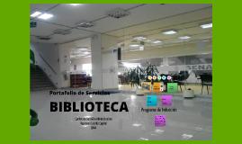 Copy of Portafolio de Servicios Biblioteca