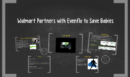 Walmart Partners with Evenflo to Save Babies