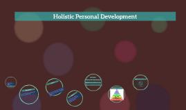 Copy of HOLISTIC PERSONAL DEVELOPMENT