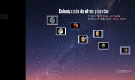 Colonización de otros planetas