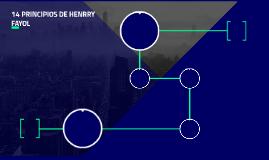 14 PRINCIPIOS DE HENRRY FAYOL