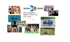 Sport Open Student seminar