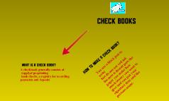 Checkbooks