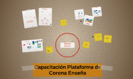 Capacitación Plataforma de Corona Enseña