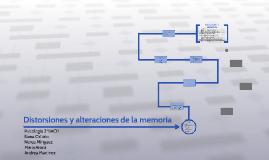 Distorsiones y alteraciones de la memoria
