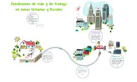 Copy of Condiciones de vida y de trabajo en zonas Urbanas y Rurales