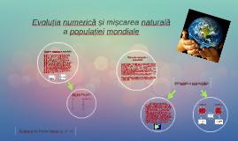 Evoluția numerică și mișcarea naturală a populației