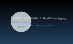 medical language discrimination