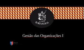 Gestão das Organizações I